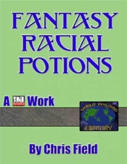 Role Playing Games - World Building Library: Fantasy Racial Potions