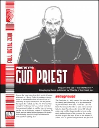 Role Playing Games - Prototype: Gun Priest