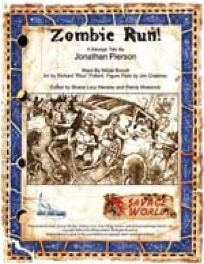Role Playing Games - Savage Tales for Fantasy Grounds II: Zombie Run