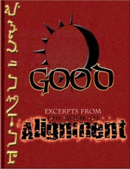 Role Playing Games - The Book of Alignment: Good