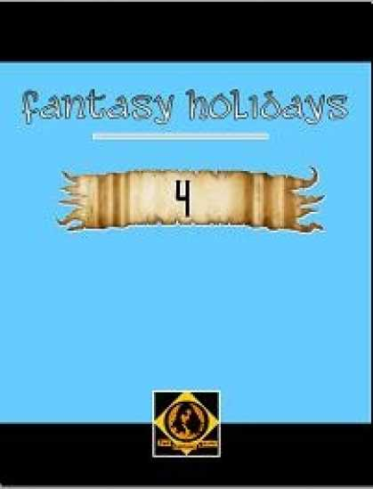 Role Playing Games - Fantasy Holidays, Vol. 4