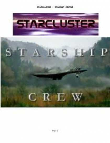 Role Playing Games - StarCluster 2 Guide to Starship Crew