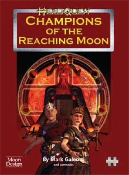 Role Playing Games - HeroQuest: Champions of the Reaching Moon