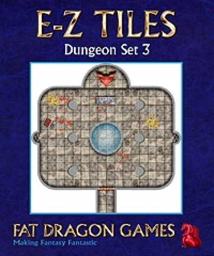 Role Playing Games - E-Z TILES: Dungeon Set 3