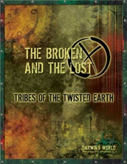 Role Playing Games - DW: The Broken and The Lost: Tribes of the Twisted Earth