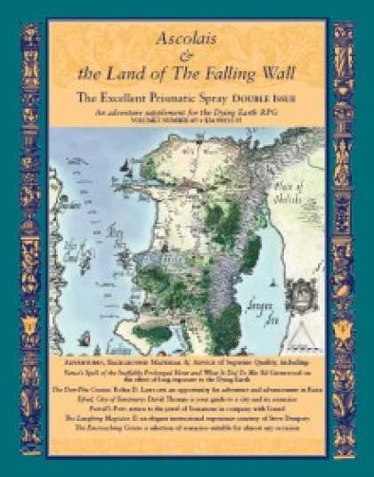 Role Playing Games - Ascolais and the Land of the Falling Wall:Excellent Prismatic Spray 4/5 double i