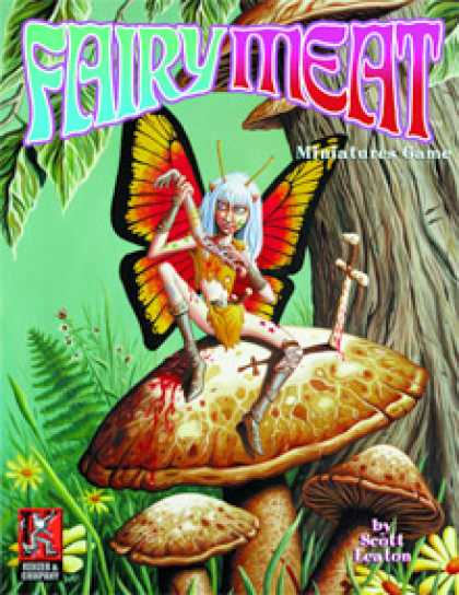 Role Playing Games - Fairy Meat Core Rules