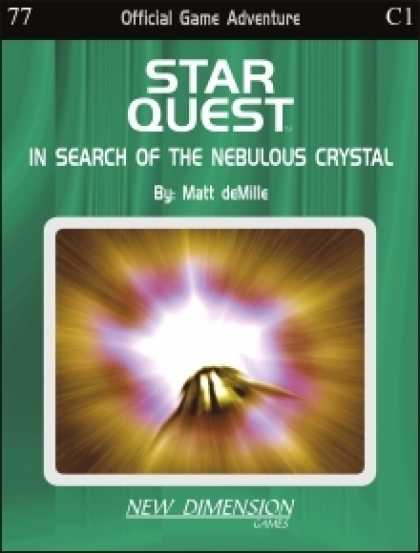 Role Playing Games - Starquest: In Search Of The Nebulous Crystal--Adventure C1