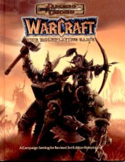Role Playing Games - Warcraft: The Roleplaying Game