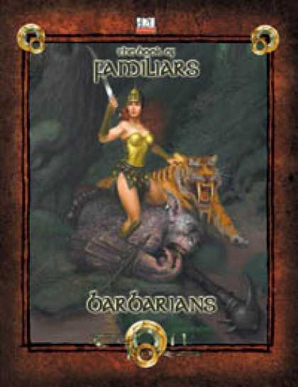 Role Playing Games - Book of Familiars Barbarian (3.5)
