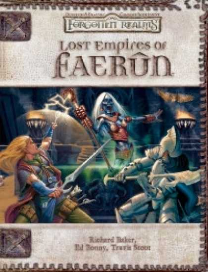 Role Playing Games - Lost Empires of Faerun