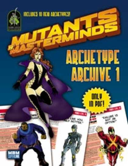 Role Playing Games - Mutants & Masterminds Archetype Archive 1