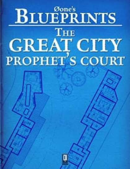 Role Playing Games - 0one's Blueprints: The Great City, Prophet's Court