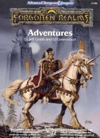 Role Playing Games - Forgotten Realms Adventures