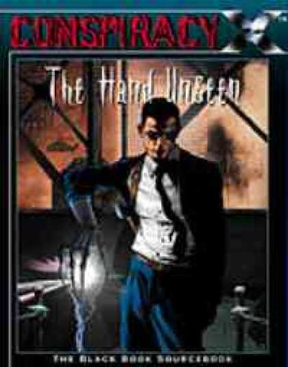 Role Playing Games - The Hand Unseen: The Black Book Sourcebook