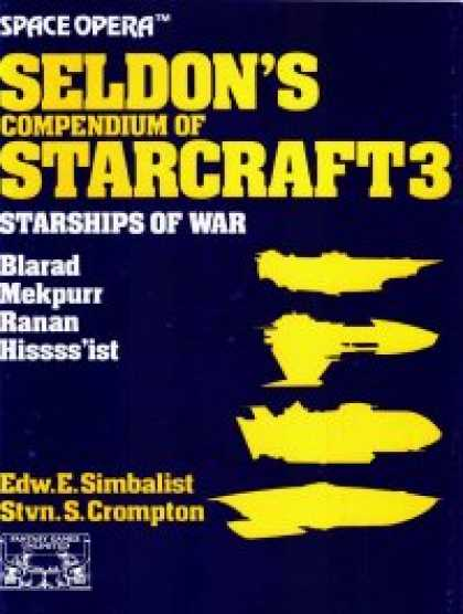 Role Playing Games - Space Opera: Seldon's Compendium of Starcraft 3
