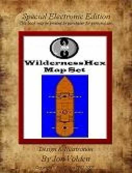 Role Playing Games - A WildernessHex Map Set