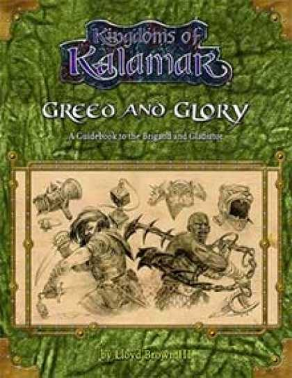 Role Playing Games - Greed and Glory