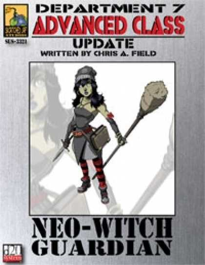 Role Playing Games - Dept. 7 Adv. Class Update: NeoWitch Guardian