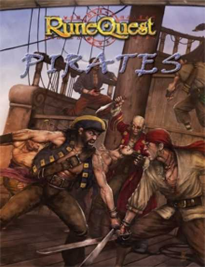 Role Playing Games - RuneQuest Pirates