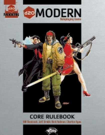 Role Playing Games - d20 Modern Core Rulebook