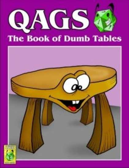 Role Playing Games - The Book of Dumb Tables
