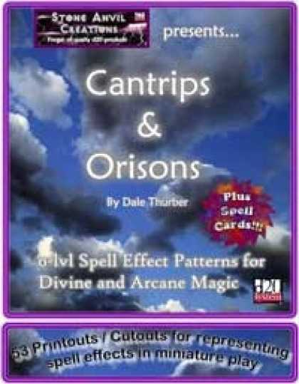 Role Playing Games - Spell Effect Patterns: Cantrips & Orisons