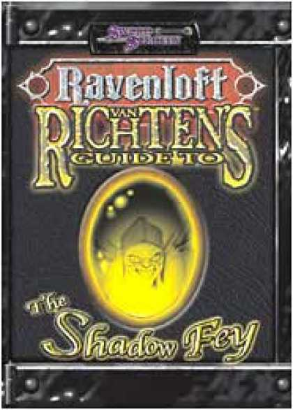 Role Playing Games - Van Richten's Guide to the Shadow Fey