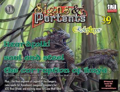 Role Playing Games - Signs & Portents Roleplayer 39