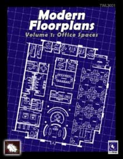 Role Playing Games - Modern Floorplans Volume 1: Office Spaces