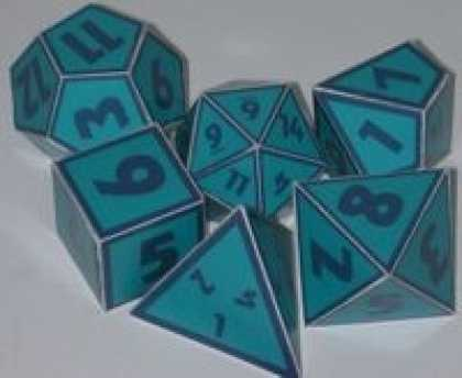 Role Playing Games - Doktor Zeus' Chunky Cardboard Dice