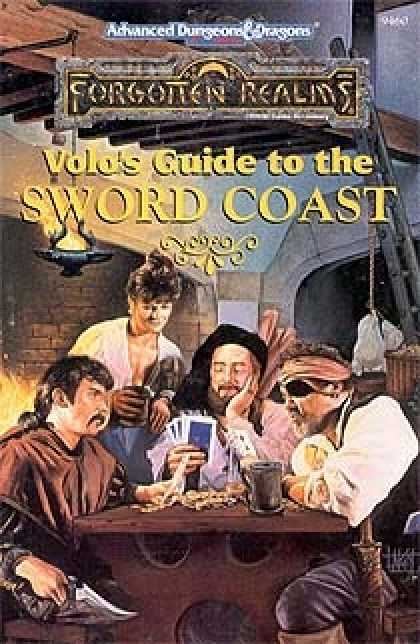 Role Playing Games - Volo's Guide to the Sword Coast