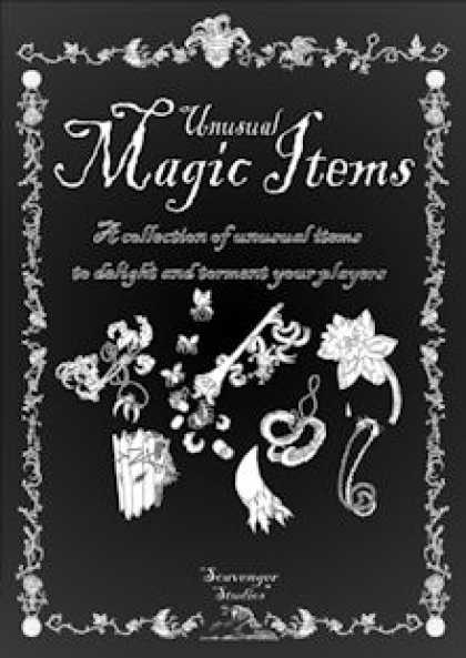 Role Playing Games - Unusual Magic Items