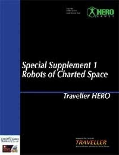 Role Playing Games - Traveller Hero - Special Supplement 1 Robots of Charted Space
