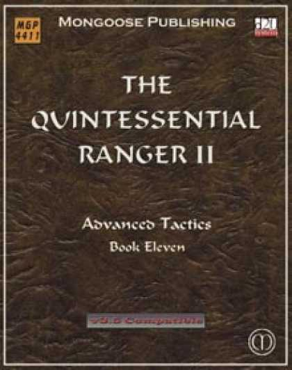 Role Playing Games - The Quintessential Ranger II
