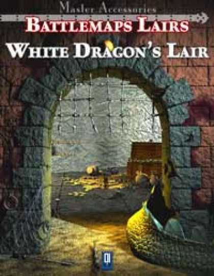 Role Playing Games - Battlemaps Lairs: White Dragon's Lair