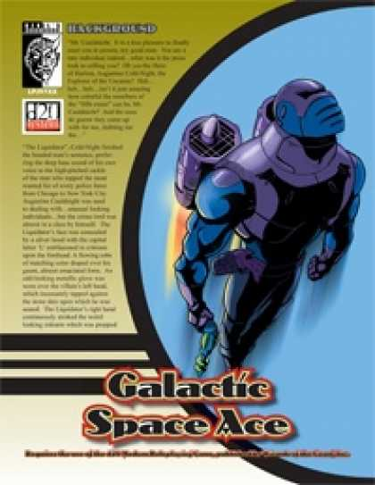 Role Playing Games - Prototype: Galactic Space Ace