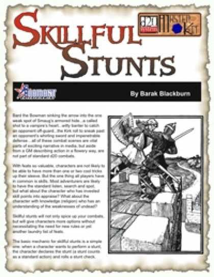 Role Playing Games - Skillful Stunts
