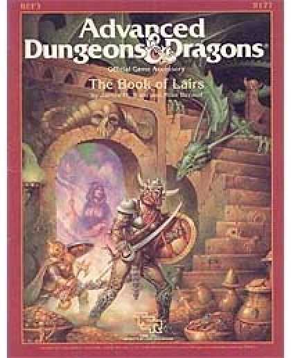 Role Playing Games - The Book of Lairs