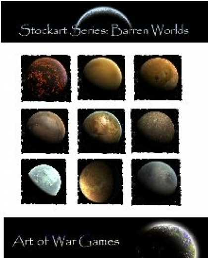 Role Playing Games - Stock Art Series Barren Worlds