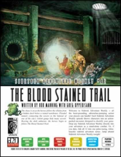 Role Playing Games - Sidetrek Adventure Weekly #02: Blood Stained Trail