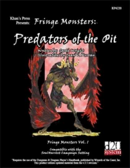 Role Playing Games - Fringe Monsters: Predators of the Pit
