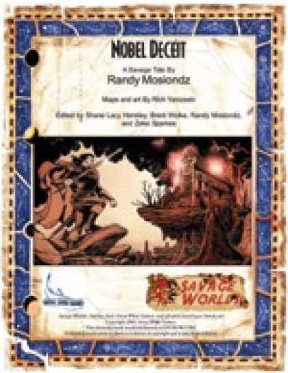 Role Playing Games - Savage Tales #5: Noble Deceit