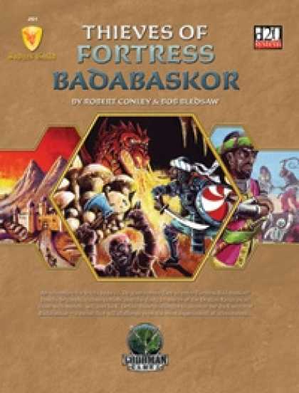 Role Playing Games - Judges Guild JG1: Thieves of Fortress Badabaskor