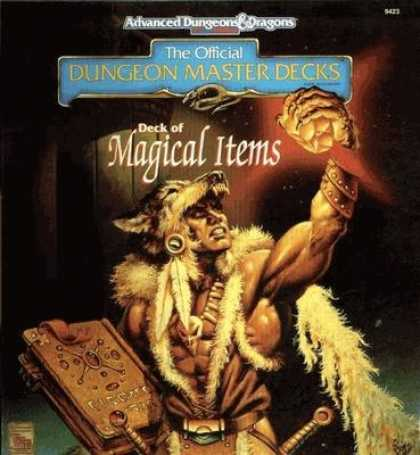 Role Playing Games - Deck of Magical Items