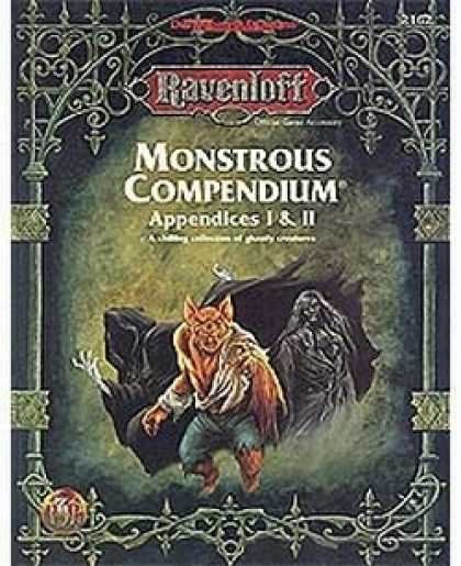 Role Playing Games - Monstrous Compendium - Ravenloft Appendices I & II