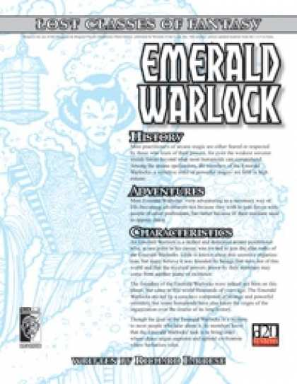 Role Playing Games - Lost Classes: Emerald Warlock