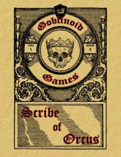 Role Playing Games - Scribe of Orcus, Vol. 1 Issue 2