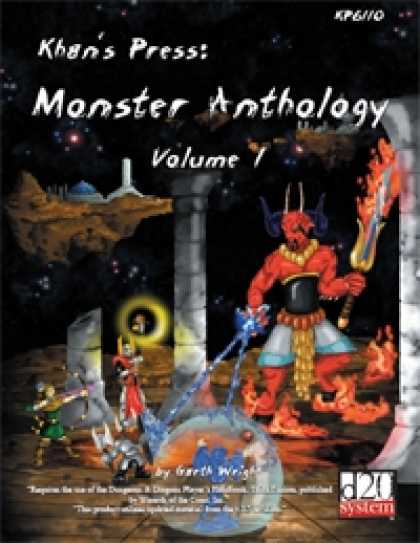 Role Playing Games - Khan's Press: Monster Anthology Volume 1