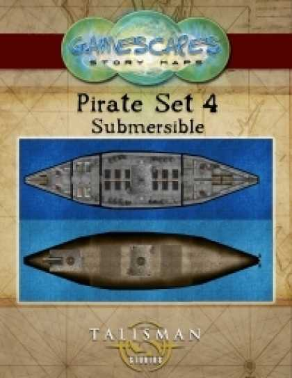 Role Playing Games - Gamescapes: Story Maps, Pirate Set 4